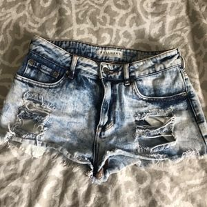 Bullhead Denim Shorts Size 5